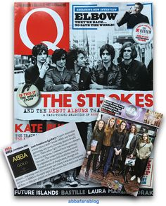 The current issue of Q Magazine in the UK includes a brief mention of Abba - visit my blog for more #Abba http://abbafansblog.blogspot.co.uk/2017/02/q-magazine.html