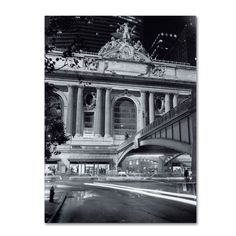 Grand Central Night by Chris Bliss Photographic Print on Wrapped Canvas