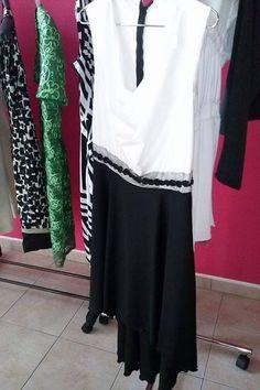 Bianco e nero, non necessariamente a strisce www.facebook.com/sarta.stile