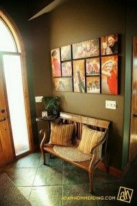 Best wall picture arrangements hallways floors 51 Ideas - Kitchen Wall Colours - Pictures on Wall ideas Photowall Ideas, Home Interior, Interior Design, Picture Arrangements, Photo Arrangement, Photo Grouping, Photograph Wall Display, Diy Casa, Photo Displays