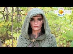 Wrap yourself up in a fairy tale! Crochet along with us as we Stitch Up this beautiful cloak pattern Together! Purchase a written copy of this pattern in our Etsy shop and support our show! Crochet Cape Pattern, Cloak Pattern, Crochet Shawl, Free Crochet, Knit Crochet, Crochet Patterns, Medieval Pattern, Crochet Stitches, Crochet Bikini