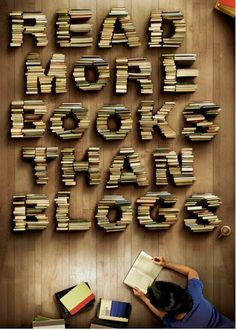 Read More Books Than Blogs - piece of cake