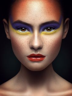 FACES by Karen Kananian, via Behance
