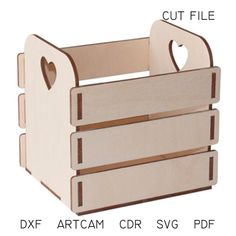 DXF files for laser Box Romantica – Vector projects for CNC router and laser cutting, svg Files, cnc Cut Vector Woodworking Furniture Plans, Router Woodworking, Woodworking Projects, Woodworking Tools, Woodworking Patterns, Routeur Cnc, Cnc Router Plans, Workbench Plans, Laser Cutter Ideas