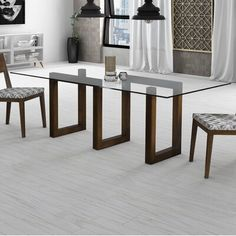 This Dining Room or Conference Table has a Glass Top, Solid Wood Maze Base, Designed Dining Room Table uniquely crafted with a timeless look (chairs are not included). Glass Dining Room Table, Dining Table Design, Solid Wood Dining Table, Modern Dining Table, Glass Dining Table Rectangular, Dining Tables, Table Bases, Glass Wood Table, Glass Top Coffee Table
