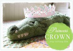Free SVG Cutting File - Princess Crown #mtc #cricut