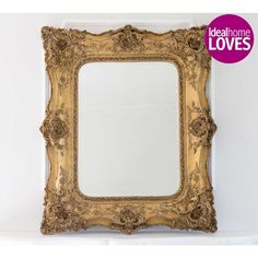 Genevieve Gold Mirror | French Mirror by The French Bedroom Company for that added touch of luxury.