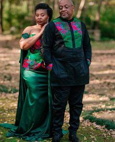 Tsonga Traditional Dresses, South African Traditional Dresses, African Wedding Attire, Traditional Wedding Attire, Shweshwe Dresses, African Children, Dress Attire, African Fashion Dresses, Wedding Outfits