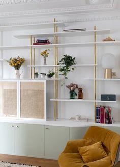 Decor Interior Design, Furniture Design, Interior Decorating, Piece A Vivre, Bespoke Design, Home Studio, Sweet Style, Built Ins, Decoration