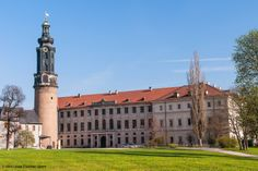 """City Palace, Weimar, Germany; part of the UNESCO World Heritage Site """"Classic Weimar"""""""