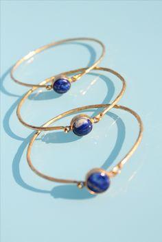 The favorite blue lapis bangle