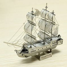 ZOYO Black Pearl Pirate Ship DIY 3D Laser Cut Models Puzzle: Bid: 15,21€ (£13.17) Buynow Price 15,21€ (£13.17) Remaining Run Until Sold