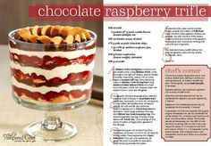 One of many trifles that can be made.