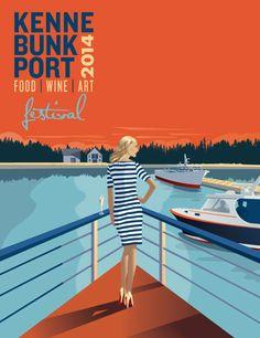 Kennebunkport Festival 2014 Poster