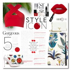 """""""The best of summer"""" by samiksha-chaufla on Polyvore featuring Prada, Lime Crime, Motel, Moschino, Tory Burch, Gianvito Rossi, Gucci, Lord & Berry and Christian Dior"""