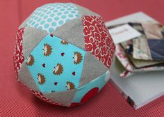 EPP Patchwork Ball by so happy!, via Flickr