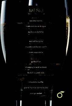#NYE menu for Wicker Park Prasino.