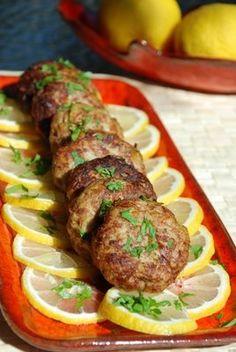 Leek and Meat patties