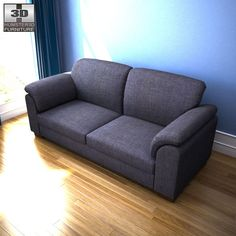 IKEA Tidafors Three-Seat Sofa 3d model