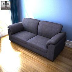 IKEA Tidafors Three-Seat Sofa 3d model