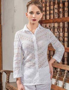 BLUSAS - PRIMAVERAL Bordados y Accesorios Chef Jackets, Zara, Google, Ideas, Fashion, Dapper Clothing, Nightgown, Block Prints, Women's