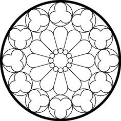Gallery Glass Free Patterns Roses   East Rose Window . It didn't take long to realize -- to my happy ...