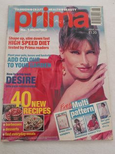 Prima Magazine Knitting Patterns : prima magazine fashions craft knitting beauty may 1994 eBay 90s Beau...