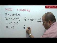 Problema 4 sobre Movimiento Circular Uniforme: Julio Rios explica la solución de un problema de Movimiento Circular Uniforme