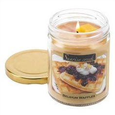 Waffle Scented Candle c: