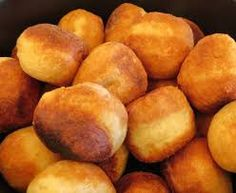 Vetkoek  is a traditional South African fried dough bread common in Afrikaner cookery. It is either served filled with cooked mince (ground beef) or with syrup, honey, or jam. It is thought …