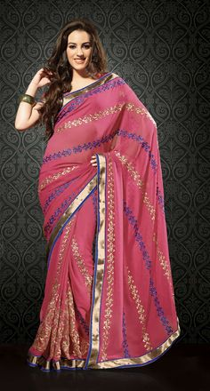 Shop Laxmi Fashion Chiffon #DesignerSaree - 1004 online at lowest price in USA and purchase various collections of Chiffon #sarees in Laxmi Fashion brand at grabmore.com the best #onlineshopping store in USA.