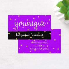 love my little purple card thank you younique younique