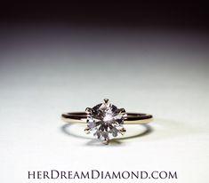 Solitaire Diamond, Diamond Engagement Rings, Engagement Rings, Diamond Engagement Ring