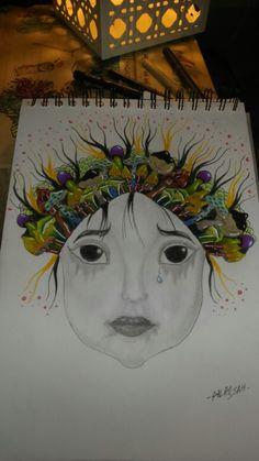 Mushroom little girl by salamjah