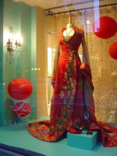 Luly Yang dress from Passage to Shanghai collection