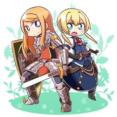 etrian odyssey frederica and protector