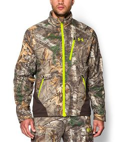 Love this Realtree AP-XTRA ColdGear® Infrared SC Barrier Jacket by Under Armour® on #zulily! #zulilyfinds
