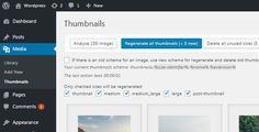 WordPress Real Thumbnail Generator - Bulk Regenerate Thumbnails / Upload folder by MatthiasWeb Turn your WordPress media thumbnails to the next level with fast regeneration. Single or bulk regenerate images and create a custom thumbnail upload structure with this unique plugin. RTG (Real Thumbnail Generator) allows you easi