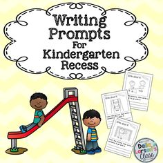 """Kindergarten Writing Prompts. Do your kids need a visual cue to activate their writing? Mine sure do. These """"NO PREP"""", """"Print and Go"""" writing prompts are terrific for kids who just can't seem to get started writing. The picture gives them something easy to write about. They are engaging and the kids can quickly get to the task of writing. Give them a try and you may be surprised at the results. These will be your """"go to"""" prompts all year long."""