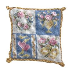 Nicola Mascall Miniatures - 12th scale Doll's House miniature tapestry kits