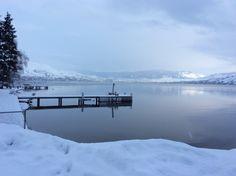Canada ... Lake Okanagan In Winter Repose