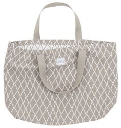 If you're looking for a large bag that's perfect for trips to the beach or a weekend getaway, then look no further than Lapuan Kankurit's generous Eskimo tote. Shopper Bag, Tote Bag, Eskimo, Weekend Getaways, Diaper Bag, Beige, Classic, Pattern, Sticks