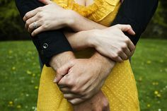 engagement - Love the hands, creative pose!