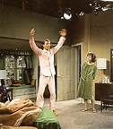 Very rare color photo of The Dick Van Dyke Show Set taken during ...
