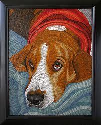 dog mosaics - Google Search