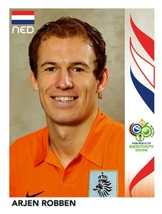 240 Arjen Robben - Nederland - FIFA World Cup Germany 2006