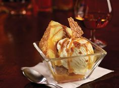 Friday's® new Salted Caramel Cake dessert – perfect for Happy Hour.