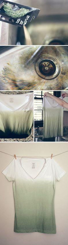 leuk shirt maken maar dan met kraaltjes ofzo