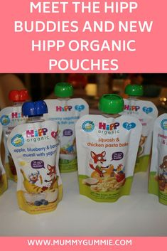 Meeting the new HiPP buddies and testing out HiPP oRGANIC new sweet and savorary baby food pouches for baby weaning. Hipp Baby, Chicken Squash, Baked Squash, Fussy Eaters, Baby Led Weaning, Meet The Team, Baked Apples, Muesli, Baby Food Recipes