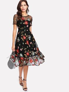 Beautiful Floral Dress.